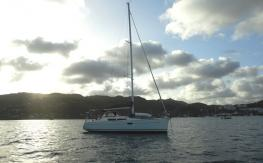 Jeanneau Sun Odyssey 36 I : At anchorage in Martinique